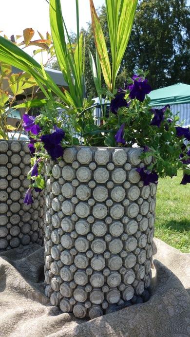 Betong för trädgårdsrummet