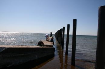 Pålning majmånad 2011 för bryggan har du bilder från denna tid, skicka dom gärna till magasinrydeback@gmail.com