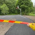 Invigning basketplan