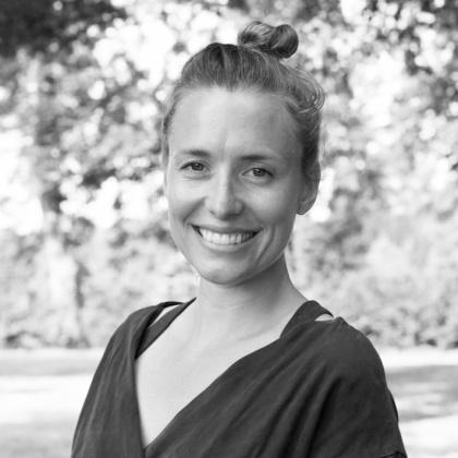 Yogalärare Johanna Lindberg