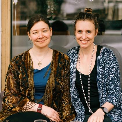 Ulrika Liard Wedin & Johanna Lindberg  Foto: Isabell Wedin