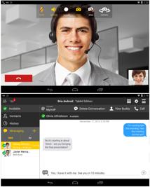 Bria för Android PAD