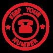 Fiber / Bredbandstelefoni - Nummerportering