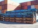 Köp eller hyr 40 fots flak container