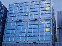 Uthyrning av containrar