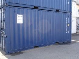 Försäljning av containrar