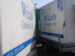 Wicab containrar