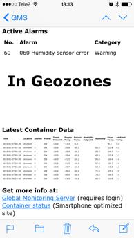 Tempövervakning kyltransporter