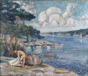 Kragenäsbadet 1945.