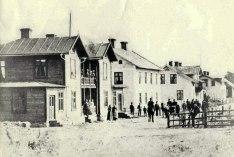 Målerås Järnvägshotell 1900