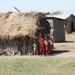 Masai children 2011