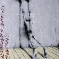 hengende mot veggen