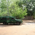Bush routes landrover