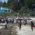 fiskmarknad i Bagamoyo