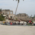 nätreparation i Bagamoyo