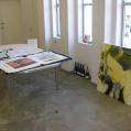 preparing exhibition #7073C