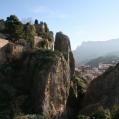 El Castell de Guadalest borgen