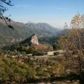 fjellutsikt i Spania