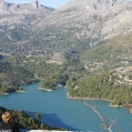 View from El Castel De Guadalest