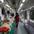 Foodstore in train