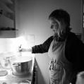 Janina i köket