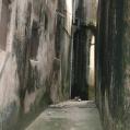 Narrow street in Stonetown Zanzibar