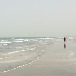 The wonderful beach in Abene
