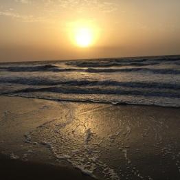Sunset in Abene