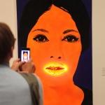 """Elaine Sturtevant """"Neon lips"""" fra 1965. Flott! Foto: Ingrid Forfang"""