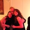 Ingrid Forfang, Bruno van Dijk (professor ved akademiet) , Lieve Maas reunion