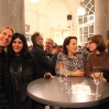 Rundt bordet: Orion Righard, Maryam Najd, Griet Van Steen, Claudia Weikmann. I bakgrunden fra v. Stefan Winroth, Orphee Pannekoucke