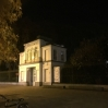 Inngangen til akademiet, Royal academy of fine arts, Antwerpen
