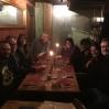 Fantastisk middag med gamle venner