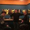 Natt i Antwerpen med kunstnerne Christian Vittinghof, Nick Andrews og Stefan Winroth