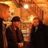 Kort møte med Koen Van den Broek, Christian Vittinghoff og Orion før utstillingen