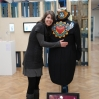 Lieve Maas presenterer sitt bidrag