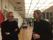 Møte med en av våre gamle professorer som fortsatt jobber på maleriavdelingen, Bruno Van Dijk møter Orion