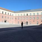 Åpen, men avgrenset plass i Madrid, Foto: Ingrid Forfang