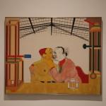 Dette maleriet av R.B Kitaj rørte meg overaskende mye! Foto: Ingrid Forfang