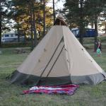 Vårt fantastiske telt
