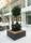 Planteringsbänk ek