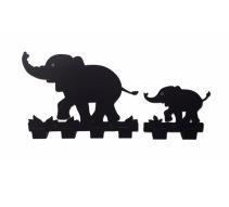 Väggkrok, Elefanter