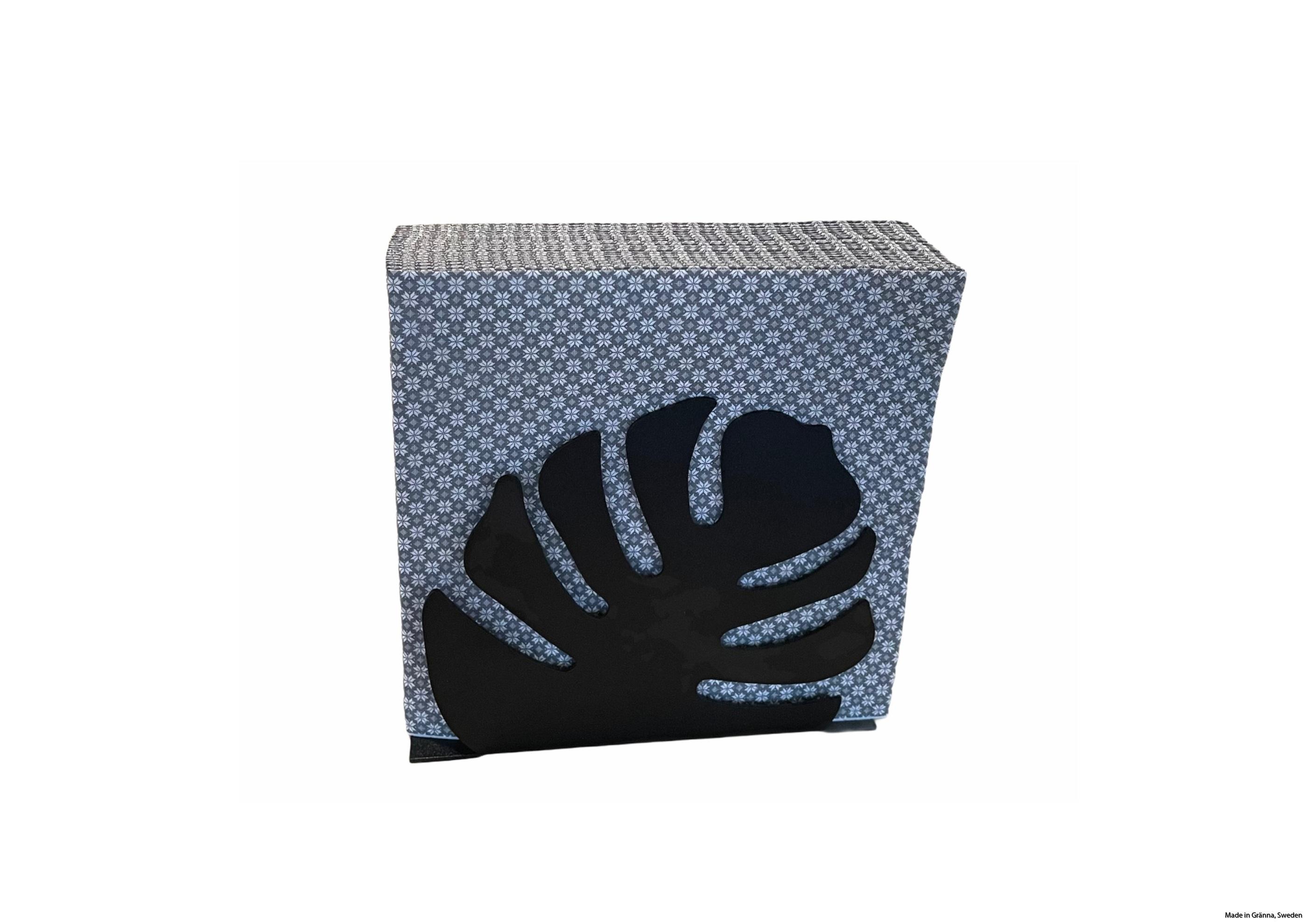 servettställ svart med servetter