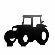 Väggkrok, Traktor