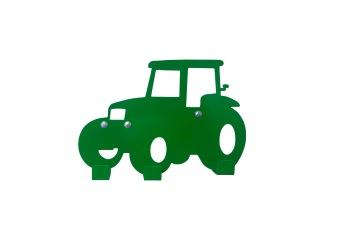 Väggkrok, Traktor - Väggkrok, Grön Traktor