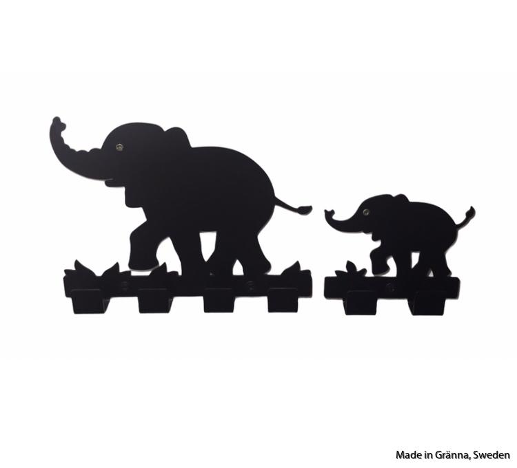 Svarta Elefantkrokar
