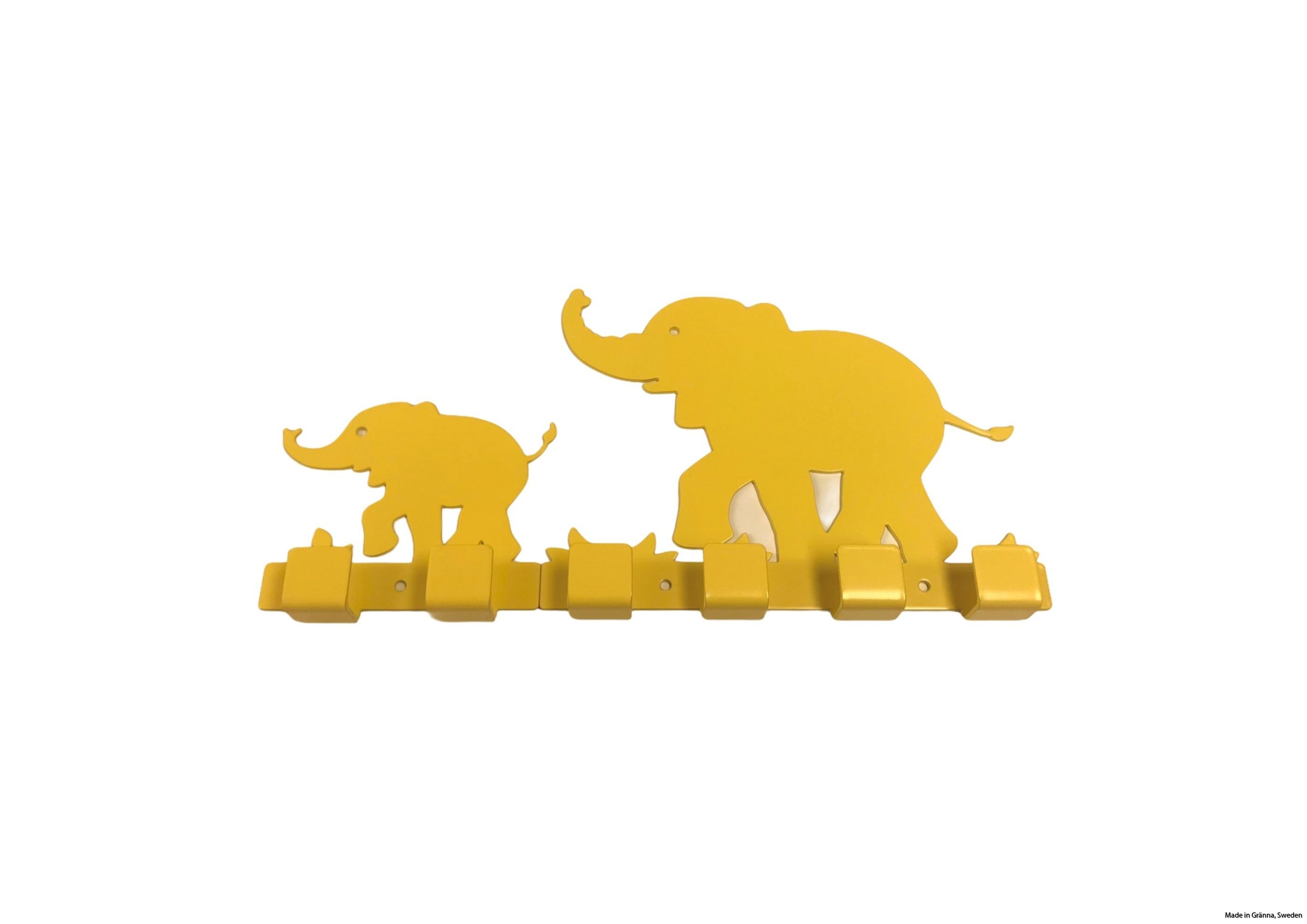 Gula elefantkrokar
