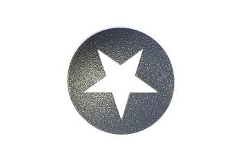 Grytunderlägg, Stjärna - Grytunderlägg, vit stjärna