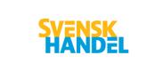 Vi är medlemmar i Svensk Handel.