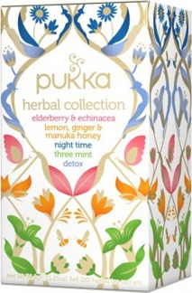 Pukka Herbal te collection -